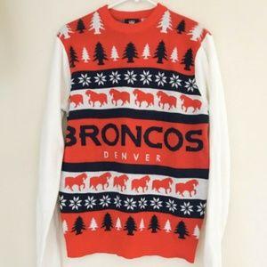 NFL TEAM APPAREL Men's Sweater Size M Denver
